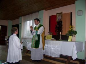 I Msza św. w Połczynie Zdroju