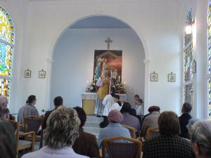 Poświęcenie kaplicy w Bajerzu