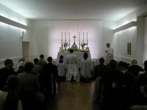 Msza św. w Szczecinie