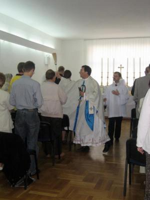 Otwarcie kaplicy w Szczecinie