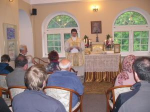 Pierwsza Msza św. i wykład w Olsztynie