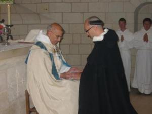 Profesja i święcenia subdiakonatu b. Jacka