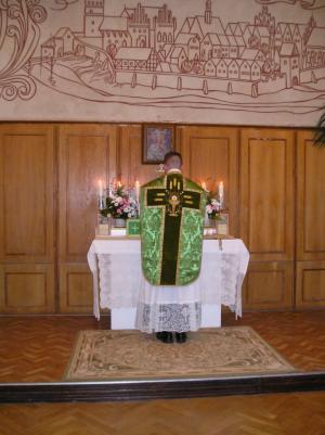 Trzecia Msza św. i wykład w Olsztynie