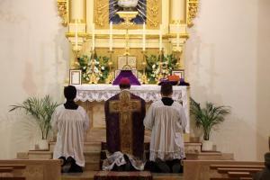 Wizyta J.E. Ks. Bp Bernarda Fellaya 17.02.2012