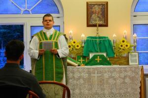Msza św. w Olsztynie