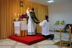 Msza żałobna w Olsztynie
