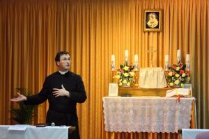 Poświęcenie kaplicy w Olsztynie