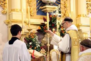 Msza św. poprymicyjna o.Jacka Marii OP - 6.07.2013