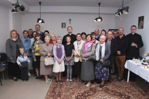 Pożegnanie ks.Raivo Kokis w gdyńskim przeoracie - 11.09.2014