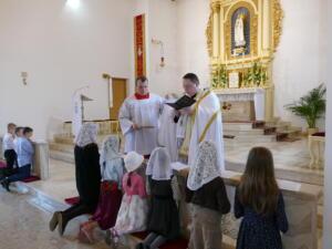 Krucjata Eucharystyczna 2019 przyjęcie na Giermka